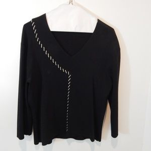 Cyrus Black Rope Blouse